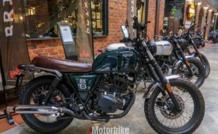 2018 New Brixton Classic 150i - Low Deposit/No SST | New Motorcycles  iMotorbike Malaysia
