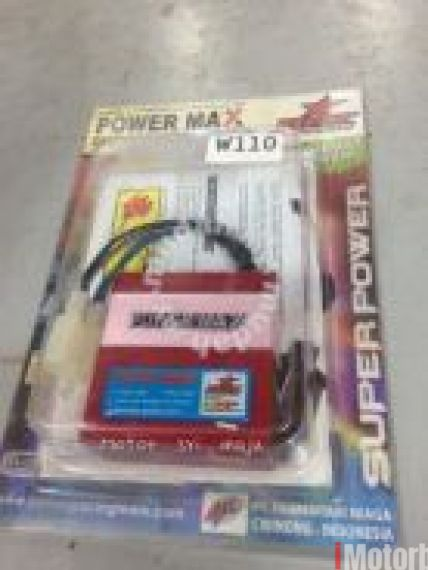 BRT power Max Racing Cdi top speed dash110