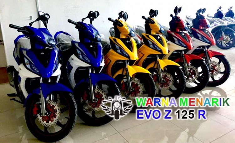 2017 Demak Evo Z 125 LC Clutch (Blue)