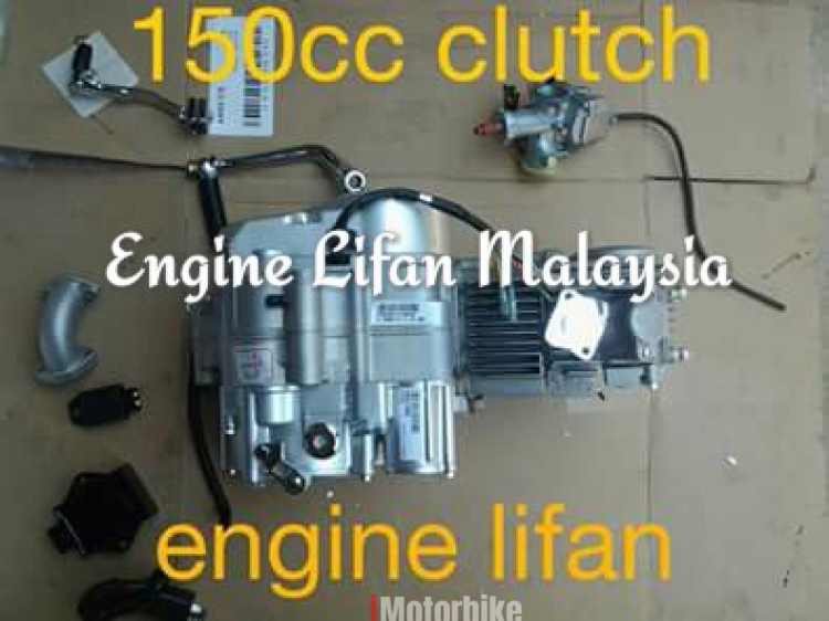 Engine lifan 150cc hand clutch, RM1,500, Complete Engines Motorcycles,  Kelantan | imotorbike my