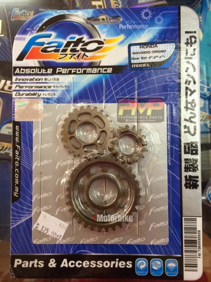 FAITO GEAR SET 1 2 4 FOR HONDA WAVE 100 / EX5 DREAM / KRISS 100, RM125,  Gearboxes & Gearbox Parts Motorcycles, Kuala Lumpur | imotorbike my