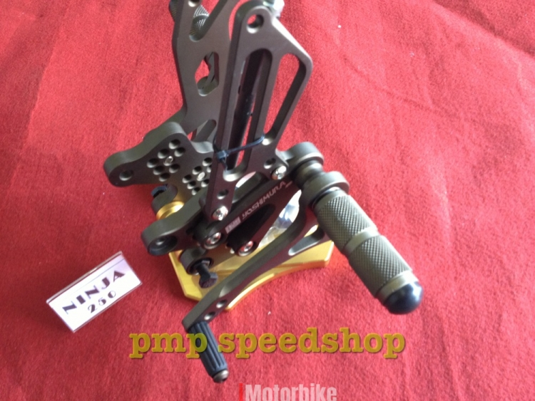 FOOTREST / REARSET RACING YOSHIMURA FOR NINJA 250 (OLD) (Matt Grey), RM280  - Matt Grey Motorcycles Footrest & Pegs, Footrest & Pegs Motorcycles, Kuala