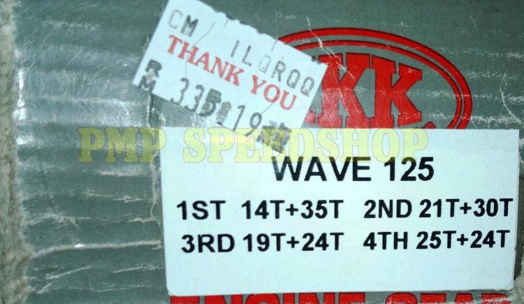 GEARBOX IKK RACING HONDA WAVE 125/SUPRA 125/KHARISMA 125