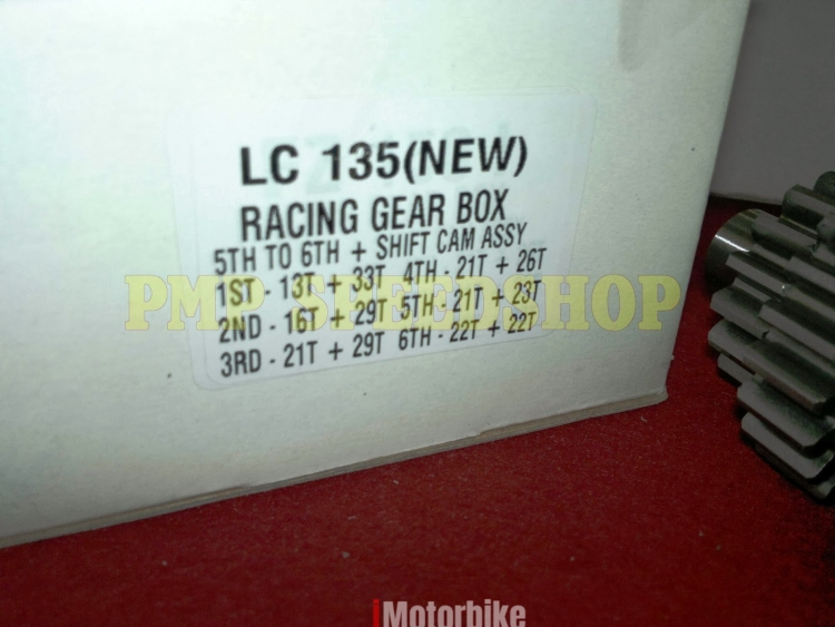 GEARBOX RACING CMS 6SPEED for LC135 5 SPEED (CONVERT), RM480, Gearboxes &  Gearbox Parts Motorcycles, Kuala Lumpur | imotorbike my