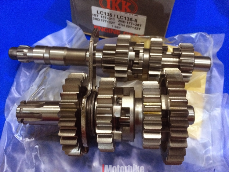 GEARBOX RACING LC135 4 SPEED AUTO CLUTCH, RM424, Gearboxes & Gearbox Parts  Motorcycles, Kuala Lumpur | imotorbike my