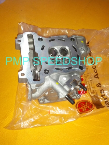 GENUINE / ORIGINAL CYLINDER HEAD MODIFIED VALVE SIZE 22/20 FOR Yamaha Spark  135/ LC135/Jupiter MX/ Crypton X/ Sniper/ FZ150i/ R15, RM480, Other