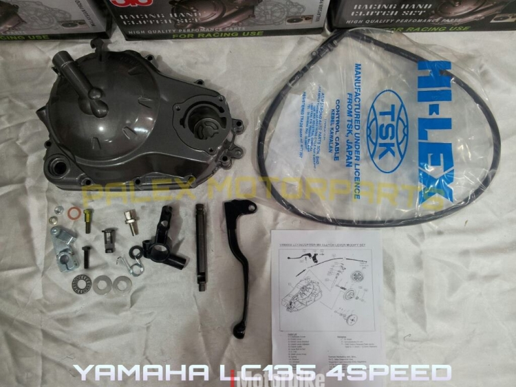 Hand Clutch Kit For Yamaha Lc135 Jupiter Mx Sniper 135 Crypton X 135 Spark 135 Clutch Modify Rm170 Complete Clutches Kits Motorcycles