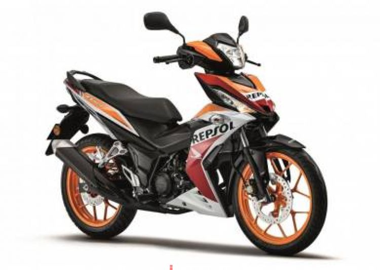 2018 HONDA RS150 - REPSOL -apply online -ic only