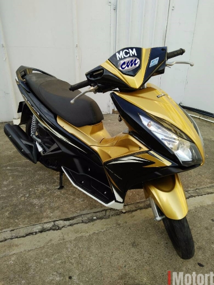 2014 Honda Air blade 125 - Scooter Airblade - 2014