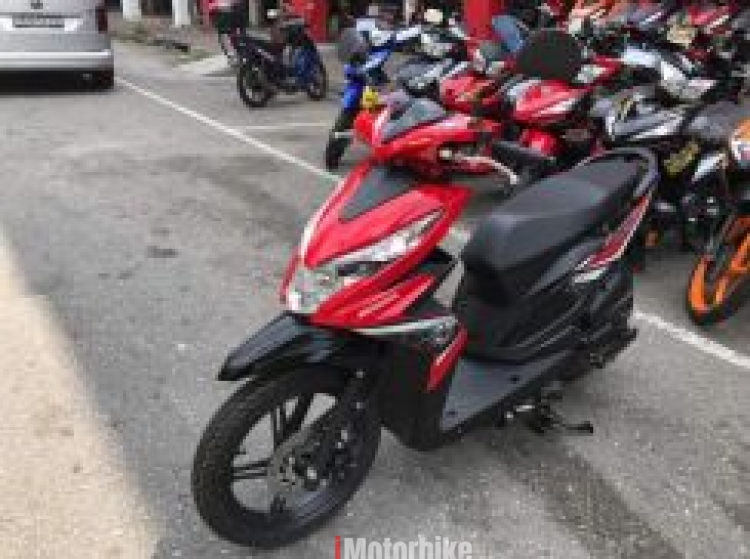 2017 Honda beat ego scooter nouvo