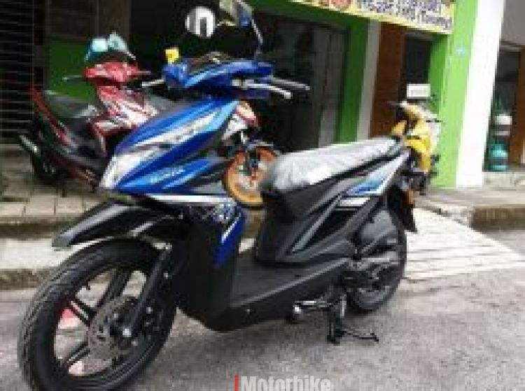 2017 Honda Beat SKUTER DP 99 ECO SYSTEM SAVING OIL (Blue)
