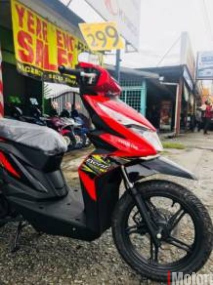 2018 HONDA BEAT 110 FI -apply online -ic only