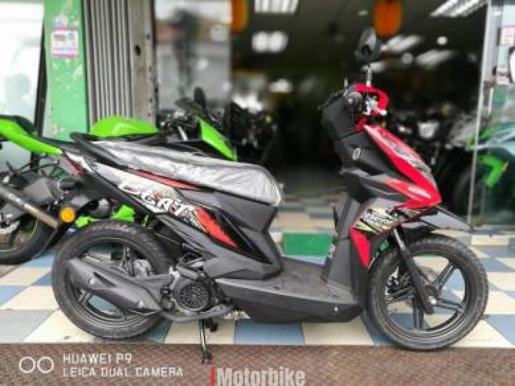 2018 Honda beat 110 solariz alpha wave dash