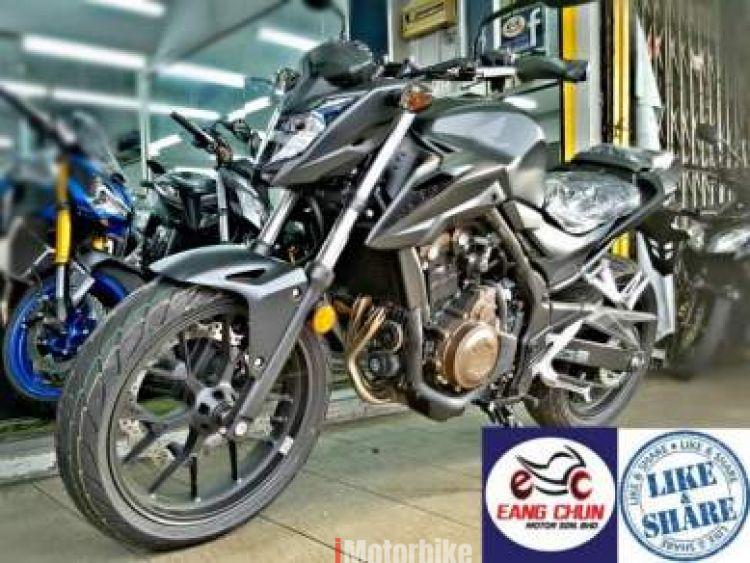 2017 CB 500F Honda CB500F 17 Gift items Apply On9