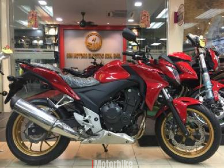 2017 New Honda CB500F -ABS- Low Downpayment