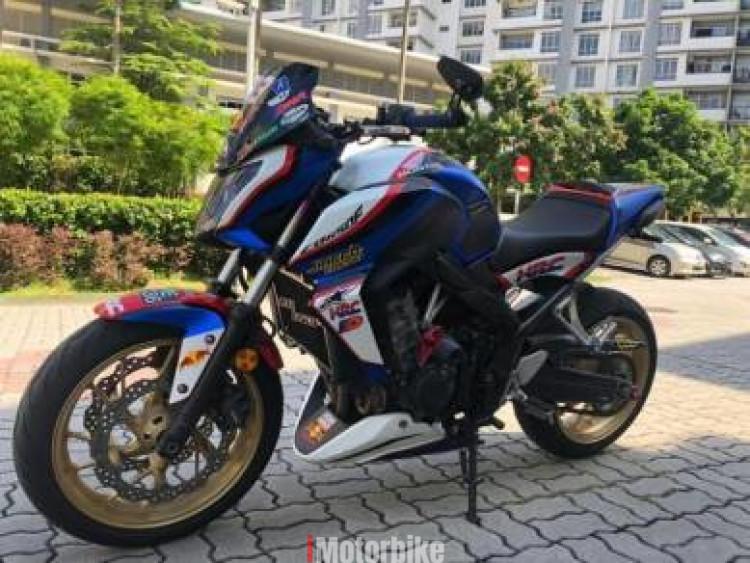 2015 Honda CB650