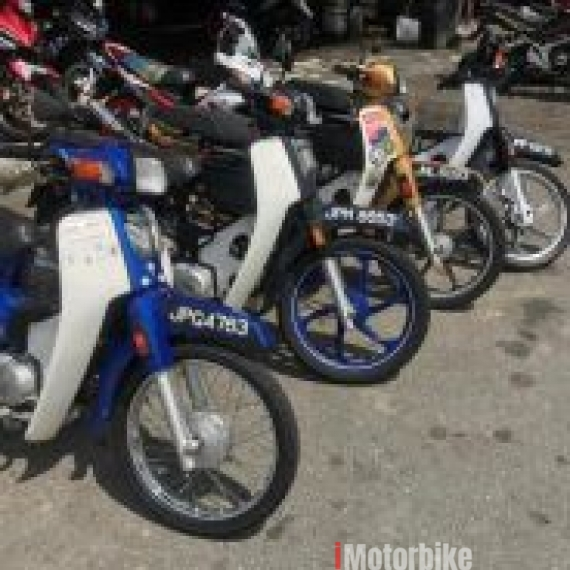 2013 Honda EX5 Dream Harga on the road Loan Kedai