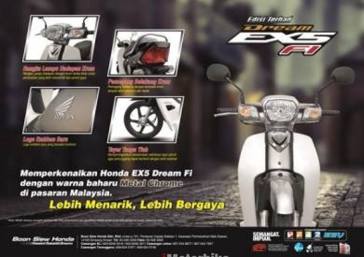 2017 RM 400 HONDA EX5 110 fuel Injection 30th LIMITED