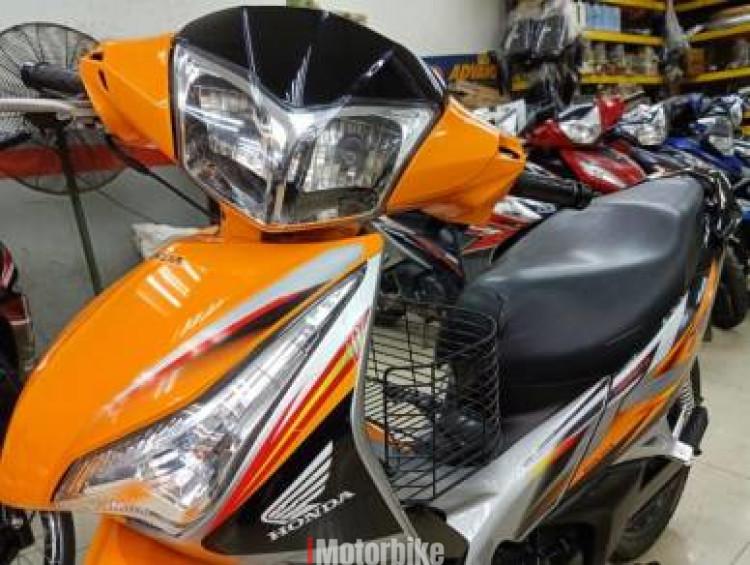2013 Honda Future 125 2Disc Brake HelmetIn TipTop Enjin