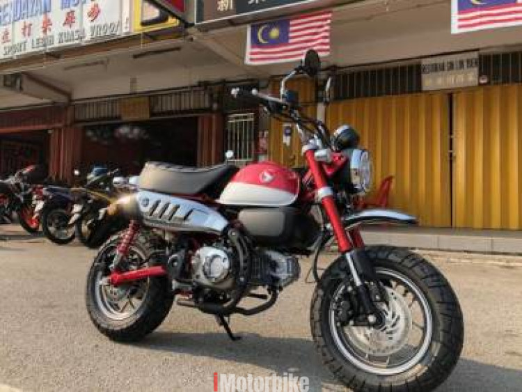 2018 Honda Msx125 Rm13999 New Honda Motorcycles Honda Negeri