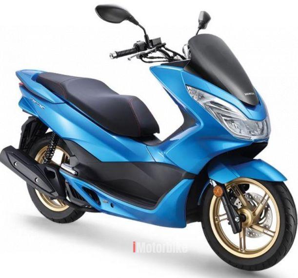 2018 Honda Pcx Rm12 086 Blue Honda New Honda Motorcycles Honda