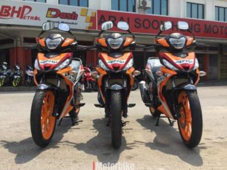 2018 Honda rs150 repsol