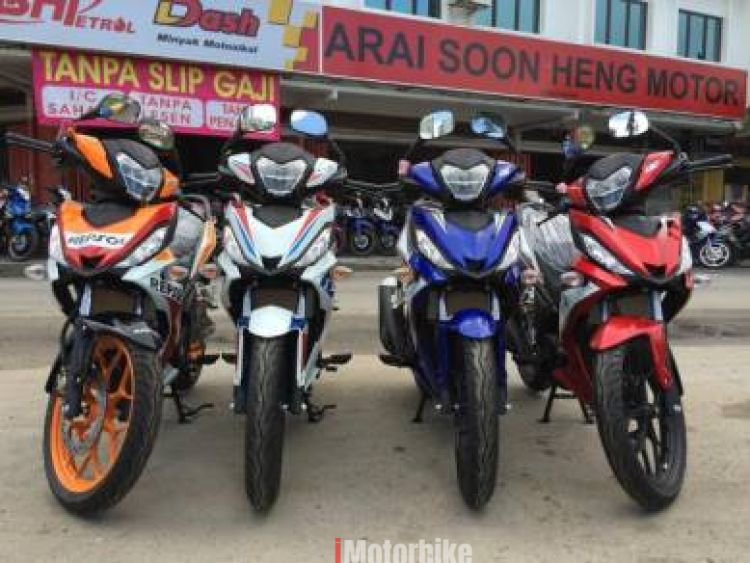 2018 HONDA RS150r READY STOK FREE APPLY LOAN *Y15zr