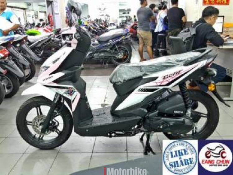 2017 Beat Scooter Honda Beat Spacy Ego Year End Sales