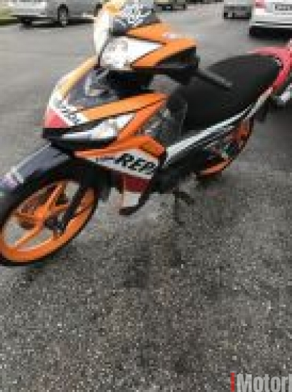 2016 Honda Wave Dash Repsol VERY NEW OTR Loan Kedai