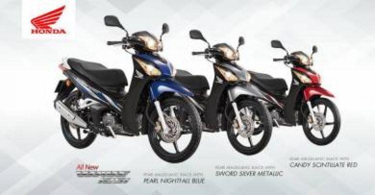 2017 Free GIVI BOX Wave 125 Fi Honda Wave125 CNY SALES