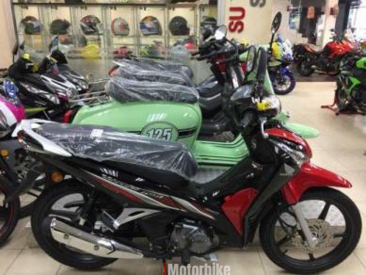 2017 Honda Wave 125i- Single disc- Special CNY