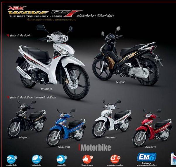 2018 Honda Wave 125i, RM5,609, New Honda Motorcycles, Honda Johor |  imotorbike my