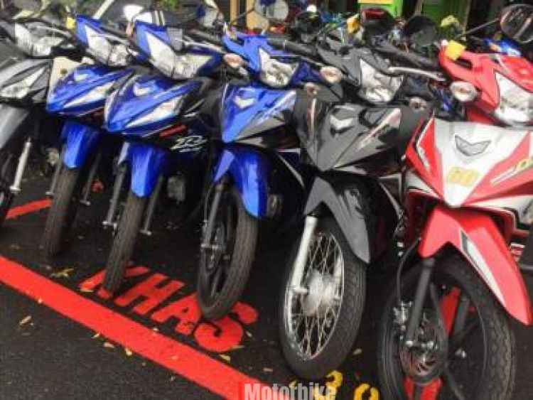2017 Honda wave alpha 110 promotion