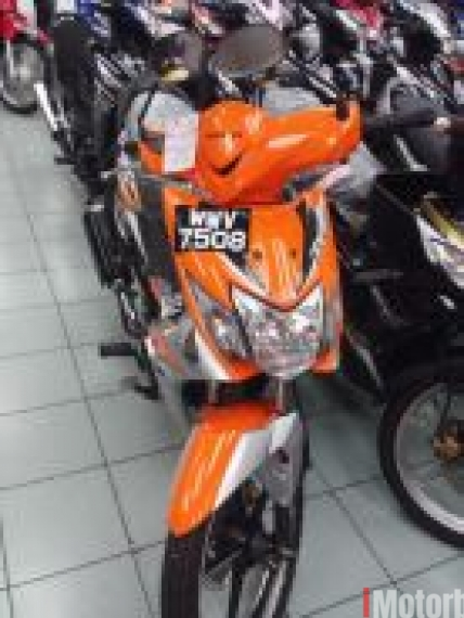 2012 Honda wave dash 1st model tahun 2012