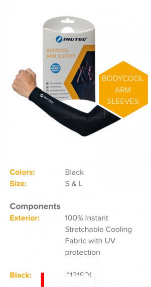 INUTEQ COOLING SLEEVES