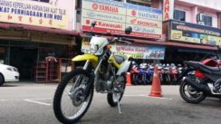 2017 Kawasaki klx 150 f klx150