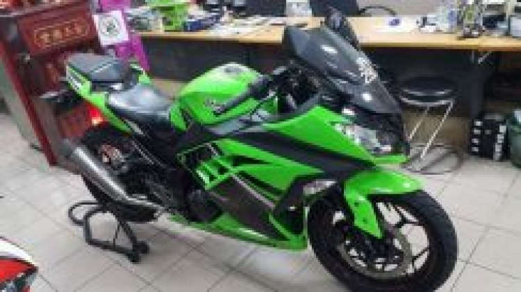 2014 Kawasaki Ninja 250 R SE ARROW EXHAUST