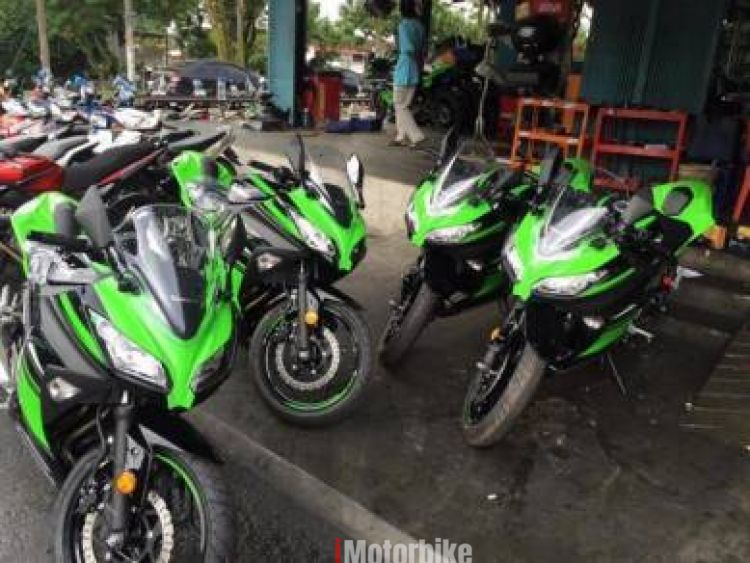 2017 Kawasaki ninja 250 new coluor
