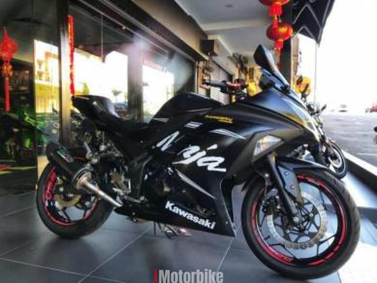2017 Kawasaki ninja 250 winter test