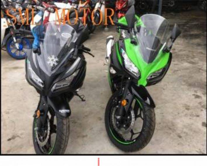 2018 2018 kawasaki ninja 250 NINJA250 free exhaust FAST