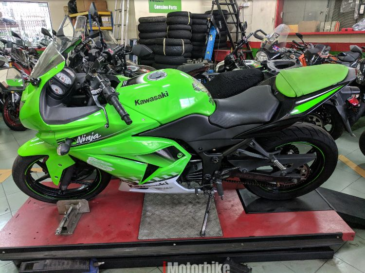Fuel Injected Ninja 250 used with Arrow exhaust good condition