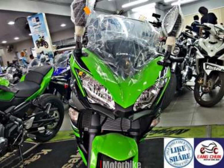 2017 Ninja 650 SE - Green - Free Shad Side Box