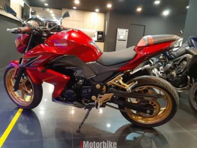 2013 Kawasaki z250 z 250 titop condition