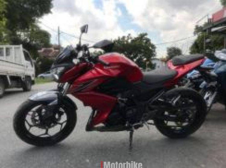2014 Kawasaki z250 z 250