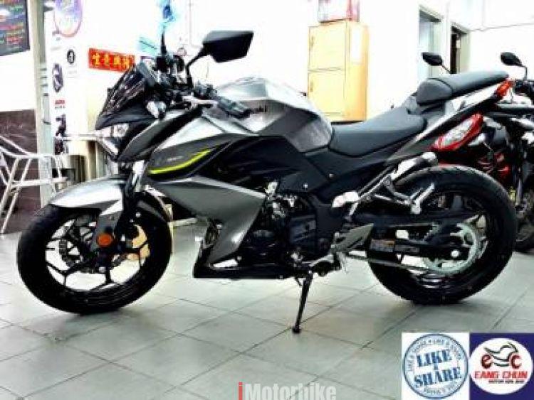 2017 Kawasaki Z250 z250 Eksos Slip On Year End -20 Gift