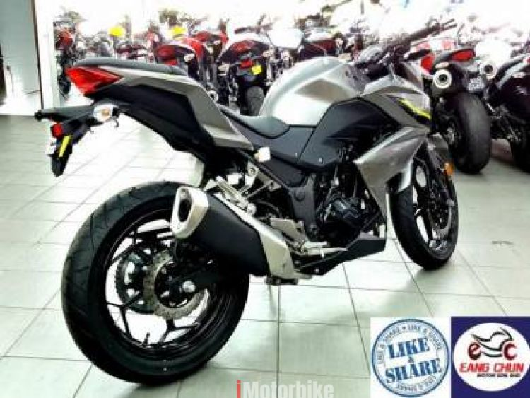 2017 Z250 Kawasaki z 250  Apply On9 20 Free Gifts