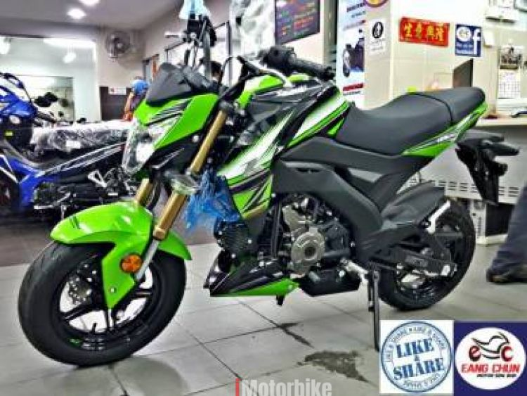 2017 Kawasaki Z125 Pro Z 125 Stock Clearance ECM 1