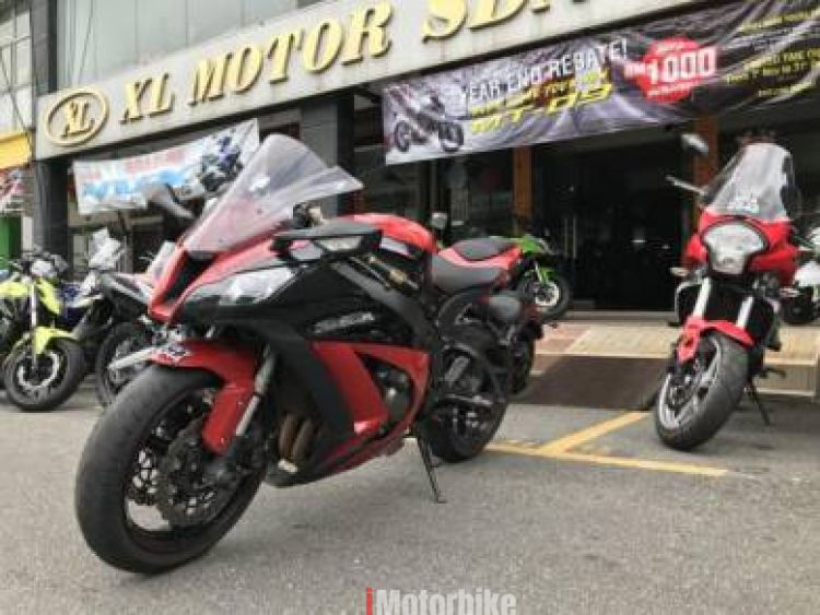 2012 Kawasaki Zx 10r Rm56800 Red Kawasaki Used Kawasaki