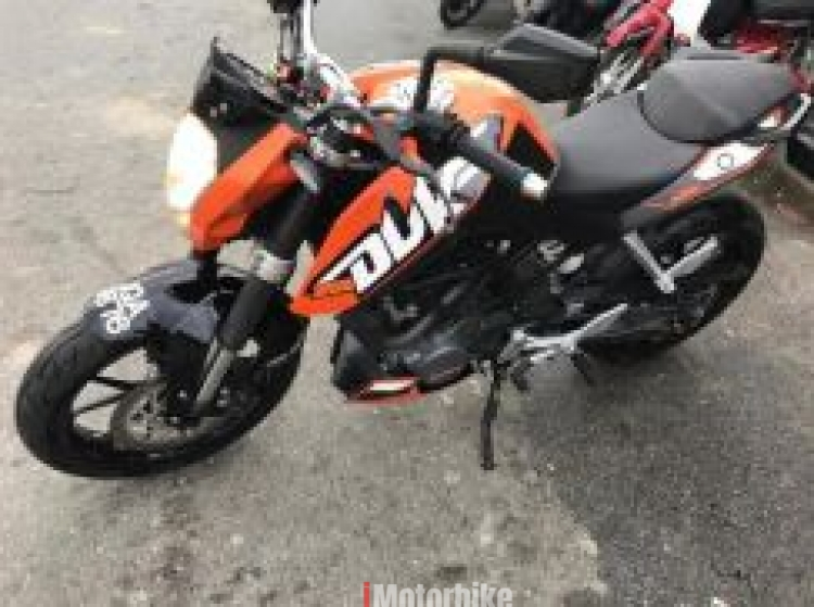 2014 KTM Duke 200 On the Road Loan Kedai