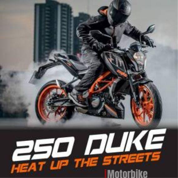 2018 KTM Duke 250 ABS with KTM Jacket n Glove